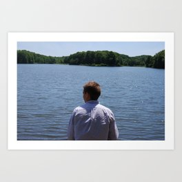 Scenic Adam Art Print