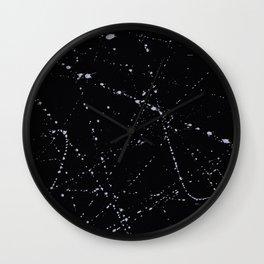 Dazed + Confused [Black] Wall Clock