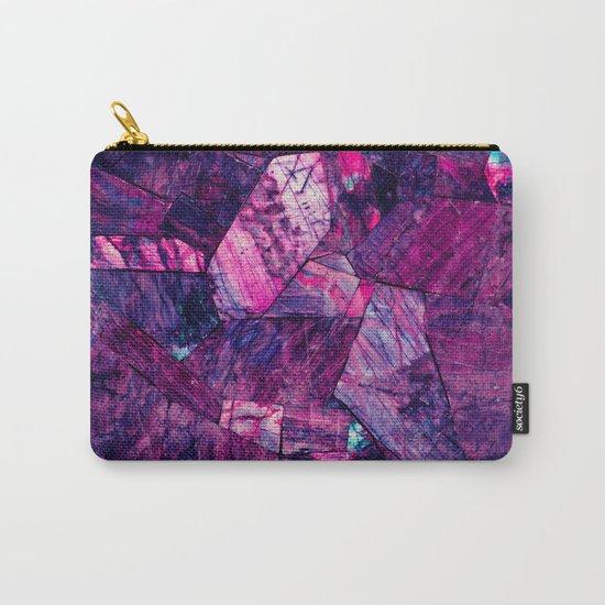 Labradorite Purple Carry-All Pouch