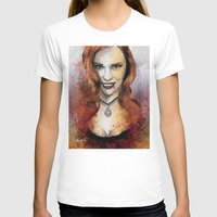 blood T-shirts featuring Oh My Jessica - True Blood by Fresh Doodle - JP Valderrama