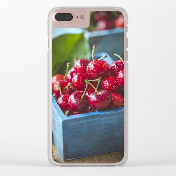 cherries Clear iPhone Case