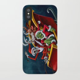 Christmas Hijackers iPhone Case