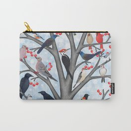 winter birds of North America Carry-All Pouch