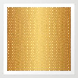 Art Deco Pattern 1 [RADIANT GOLD] Art Print