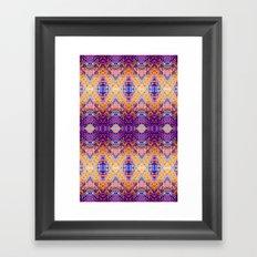 Marrakech Yellow Framed Art Print
