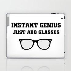 Just Add glasses Laptop & iPad Skin