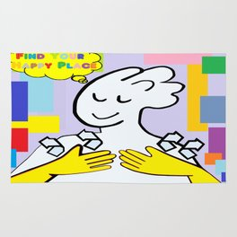 ASL Find Your Happy Place Rug