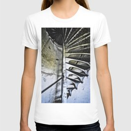 Lighthouse tower stairs T-shirt