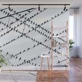 The Grackles Wall Mural
