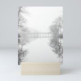 Spring Lake New Jersey in the Fog Mini Art Print