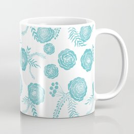 Peony Pattern Island Paradise Coffee Mug