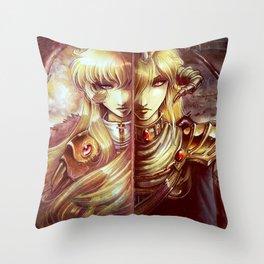 Two Ways Throw Pillow