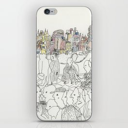 NYC buildings iPhone Skin