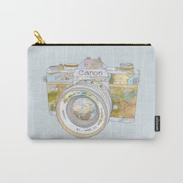 TRAVEL CAN0N Carry-All Pouch