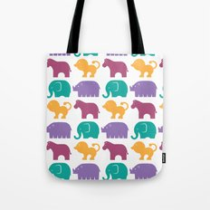 Fun at the Zoo: Pattern Tote Bag