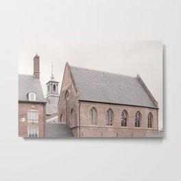 Zutphen Photo   The Netherlands Photography   Zutphen Brother Monastery Metal Print