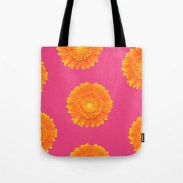 hot summer flower Tote Bag