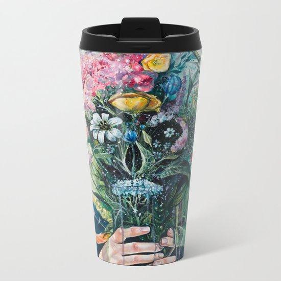 The Last Flowers Metal Travel Mug