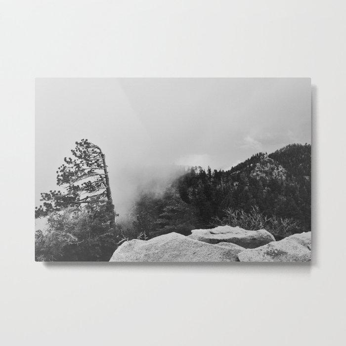 Canyon Fog Metal Print
