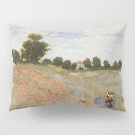 Poppies By Claude Monet Pillow Sham