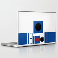 r2d2 Laptop & iPad Skins featuring R2D2 by VineDesign
