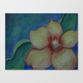 Flower Power WC20150714c-DE Canvas Print