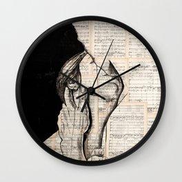 Pretty love Wall Clock