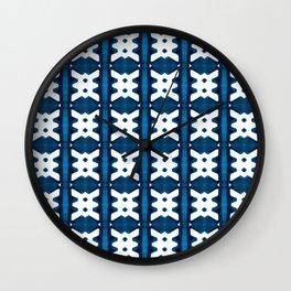 Shibori Watercolour no.3 Wall Clock