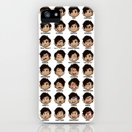 The Faces of Markiplier iPhone Case