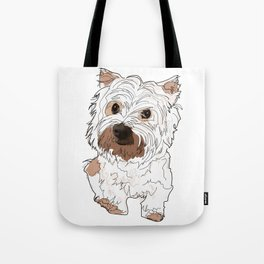 Lolo, West Highland Terrier Tote Bag