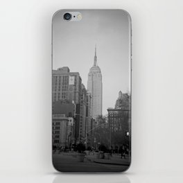 The Empire State Building and Madison Square Park iPhone Skin