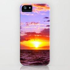 Sunset at Sea 1 - Hawaii Slim Case iPhone (5, 5s)