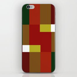 Forest Abstract iPhone Skin