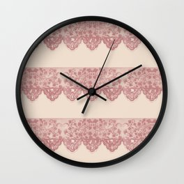 Sweet Lace Wall Clock