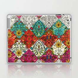 aziza patchwork Laptop & iPad Skin