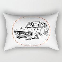 Crazy Car Art 0186 Rectangular Pillow