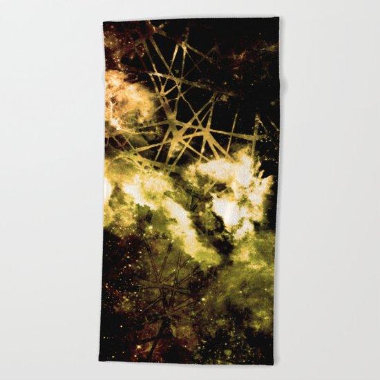 ε Gold Aquarii Beach Towel