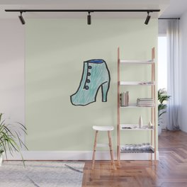 High heel Wall Mural