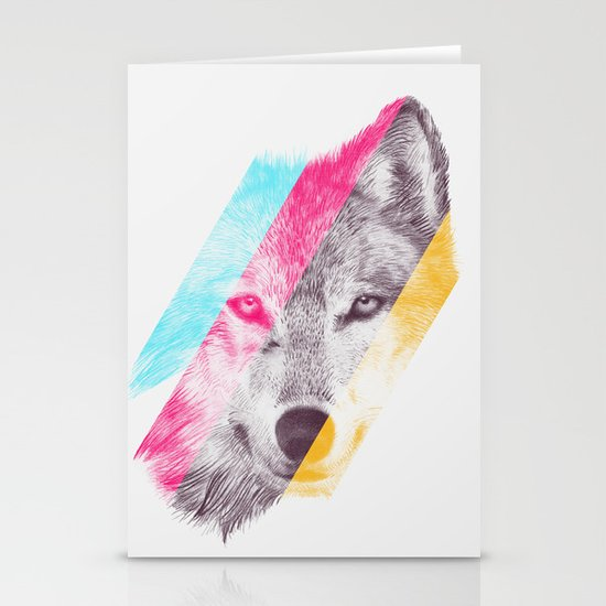 Wild 2 - by Eric Fan and Garima Dhawan Stationery Cards