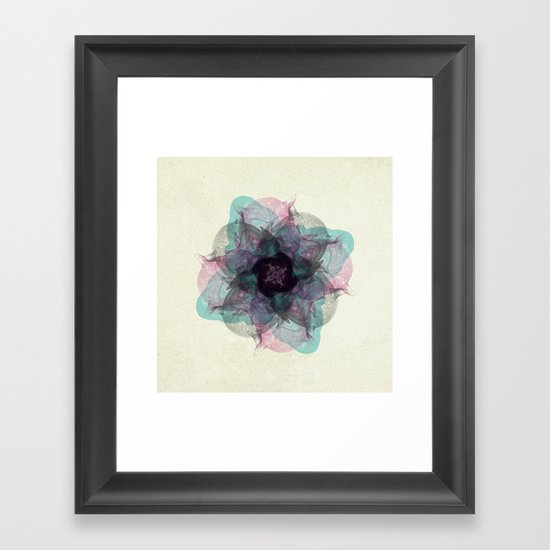 Devil's flower Framed Art Print