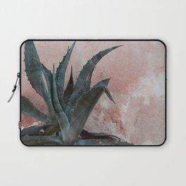 Pink Blue Cactus Laptop Sleeve