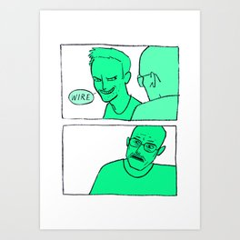Batteries Art Print