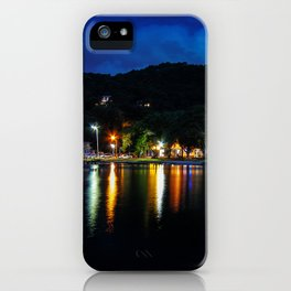 Lagoon Lights iPhone Case