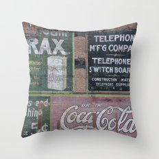 Coca-Cola & Borax Throw Pillow