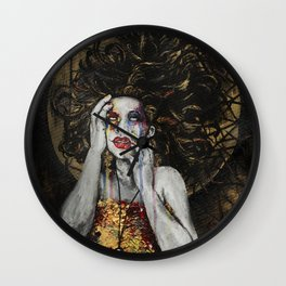 Ophelia's Madness Wall Clock