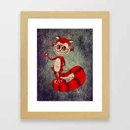 The Cat Appears! Framed Art Print