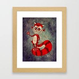 The Cat Appears! Framed Art Print