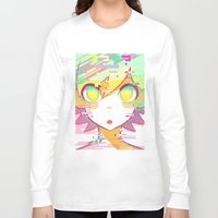 glitch Long Sleeve T-shirts featuring ♢GLITCH♢ by XENVITA