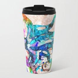 Octopus Grunge Travel Mug