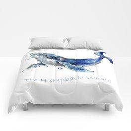 Whale Artowrk, Humpback Whale Comforters